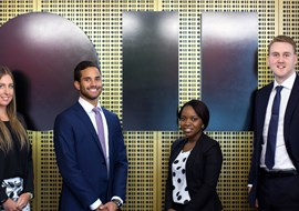 Young guns put on the fast track to property stardom as talent hunt intensifies